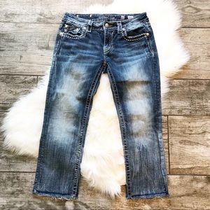 Miss Me Signature Crop Jeans